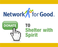 Donate to Shelter with Spirit via Network for Good